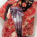 j'ai terminée Kimonos!