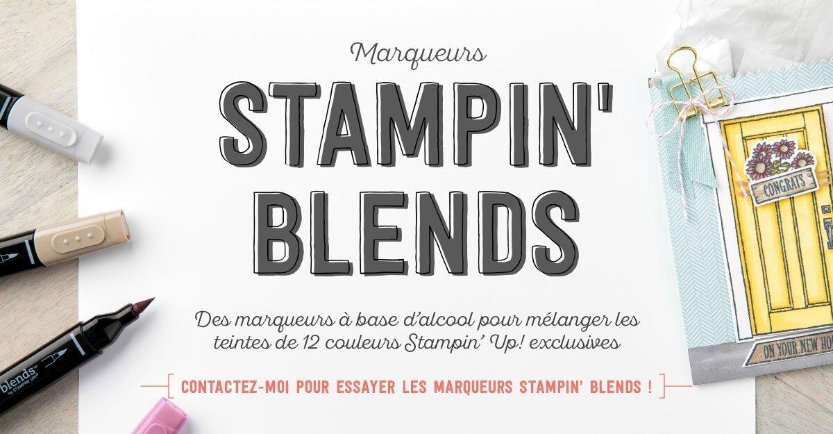 Nouveauté Les Stampin' Blends