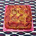 Gâteau aux prunes, inspiré par Gut