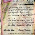 calligraphie page droite