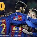 Buts barcelone vs athletic bilbao résumé vidéo 3-0
