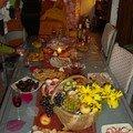 Table d'Automne pour un buffet de fête!