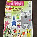 Dossier couture spécial doudous