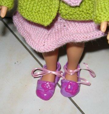 Chaussures en fimo par Patou91