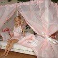 Ciel de lit Barbie