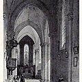 Nantes - intérieur église St-Jacques