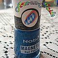 Les vernis magnétiques
