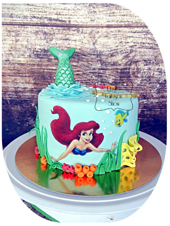 Gateau Ariel la petite sirène -Little mermaid Ariel cake