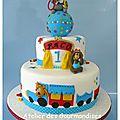 Gâteau anniversaire enfant Nîmes cirque 1 nina et annie