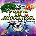 Forum des associations de corbeil-essonnes