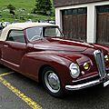 Lancia <b>Aprilia</b> cabriolet Pininfarina, 1940 à 1949