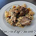 Navarin d'agneau creole
