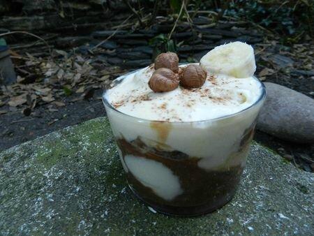 le Tiramisu Nutella® et banane de Nanou