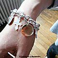 Bracelet personnalisé de Dorothée