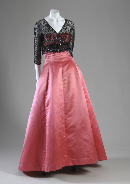 Evening gown and jacket
