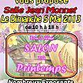 C'est demain ! 3ème SALON du PRINTEMPS - <b>HERLIES</b> (59) - 5 Mai 2013