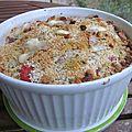 Gratin croustifondant d'aubergines & tomates au fromage ail & fines herbes