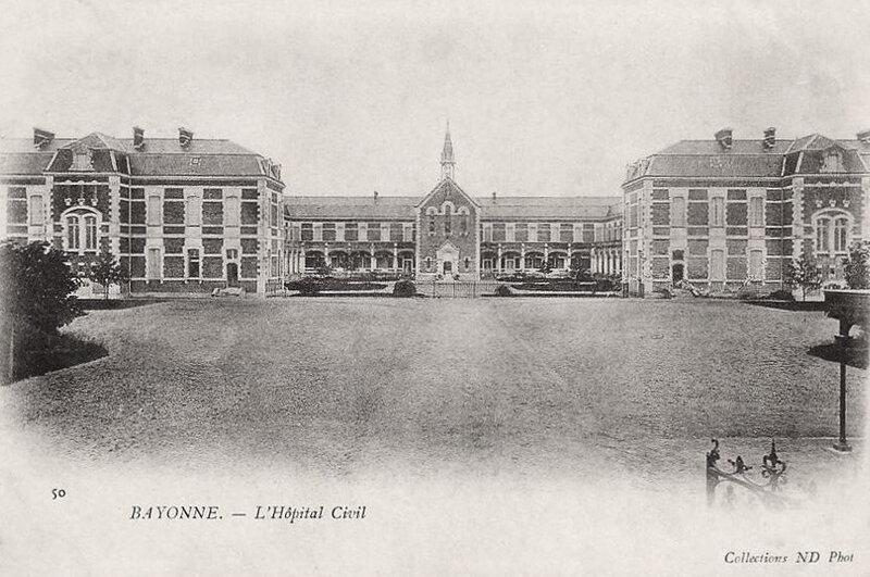 Bayonne hôpital civil