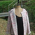 veste rose chanel