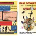 Tract pour le raid découverte 09 (sports-loisirs-jeunesse)
