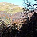 Le Layens (1625 mètres) vu du bas de Castillon...