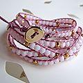 Encore un bracelet wrap...