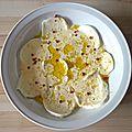 Salade de mozzarella de j.o.
