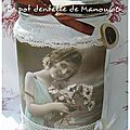 Manou60 Transfert La Femme Aux Marguerites