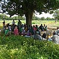 Rencontre entre dogons et bambaras