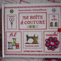 MA <b>BOITE</b> <b>A</b> <b>COUTURE</b> - MARIE LE GOAZIOU - NATHALIE BRESSON - EDITIONS OUEST-FRANCE.