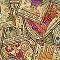 Round Here. Partie 1. <b>Tarot</b> <b>divinatoire</b> (1)