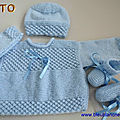 tuto pdf, tricot bb, ensemble bleu, explications