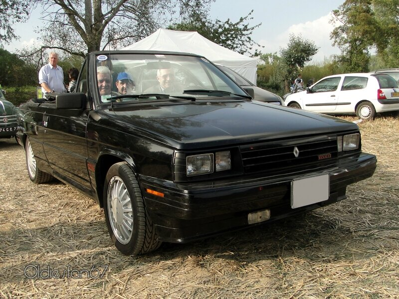 Renault Alliance GTA 2.0L Convertible-1987