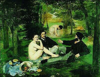 Manet - Déjeuner sur l'herbe