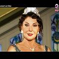 اجمل صور الفنانة نادية الجندي في دور الملكة نازلي في مسلسل ملكة في المنفى