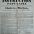 Challenge az généalogie - j comme choléra
