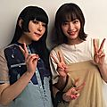 Photos & vidéos twitter : ( [account @uchiage_movie] - |2017.06.29 - 08h20| daoko & suzu hirose )