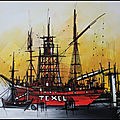 <b>Zeebruges</b> le port ,le canal,Texel