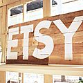 Etsy home