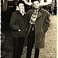 Monique et Joseph à Quimperlé (Quimperlé, 1960)
