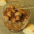 Champignons à la grecque (au <b>Cuisine</b> <b>Companion</b> Moulinex)