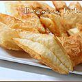 Losanges feuilletés frits, baklawa <b>kabyle</b>