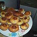 Muffins aux pépites de chocolat et coeur caramel