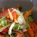Salade thaï croquante