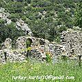 Que visiter entre Antalya et Kaş ? Phaselis, <b>Olympos</b> et Çıralı