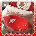 🍰💋 entremet fraises-coco 🍰💋