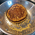 Pancakes légers avec de la farine de flocon d'<b>avoine</b>
