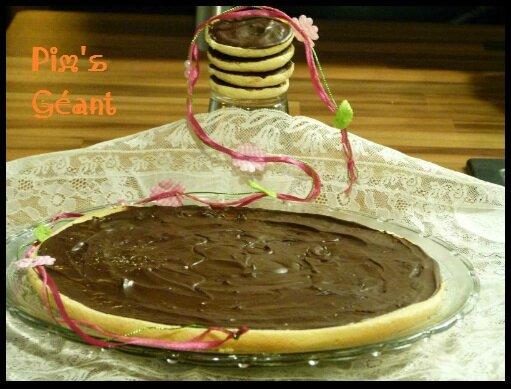 """ღ """" Miam """" Pim's Géant ou Jaffa Cakes"""
