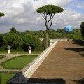 Le jardin Borghèse vu depuis la Villa Médicis