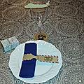 Voyage ... un nouveau thème de décoration de table